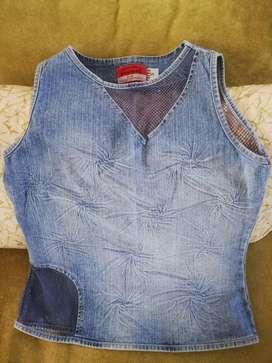 Blusa barata linda jean para Mujer