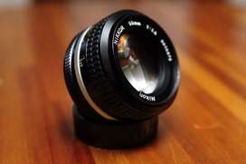 Lente Nikkor 50mm 1.4 Ai nikon como nuevo