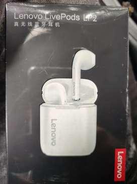 Auriculares Lenovo LP2 nuevos originales