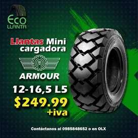 LLANTAS ARMOUR 12-16,5 L5 / Bobcat