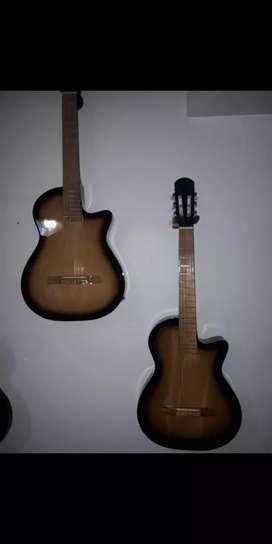 """Guitarra Electroacustica """"SX"""" con afinador """"Fishman"""" NUEVAS"""