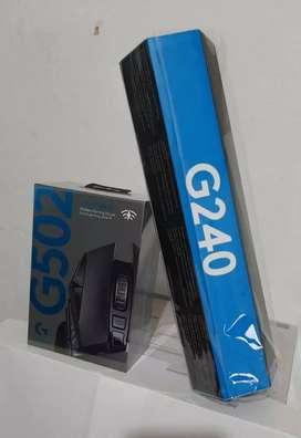 Gran oferta navideña combo Logitech mouse inalámbrico G502 y pad mouse G240