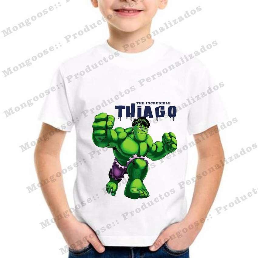 Camisetas Personalizadas Niño Hulk 0