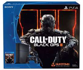 Playstation 4 + Call Of Duty Black Ops 3 - 500gb