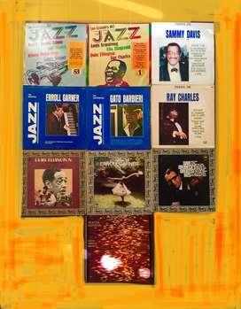 Lote 10 Vinilos Jazz y blues