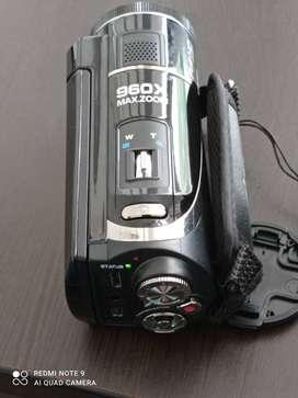 Vendo Cámara filmadora con proyector