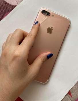 Iphone 7 plus 10/10 128gb