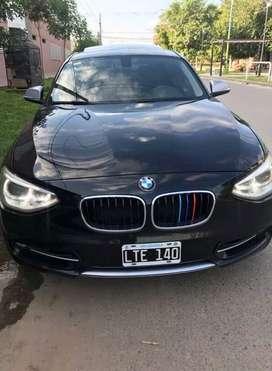 BMW 118i SPORT CON EXTRAS, IMPECABLE NADA PARA HACERLE, CUBIERTAS NUEVAS Y SERVÍ RECIÉN HECHO.