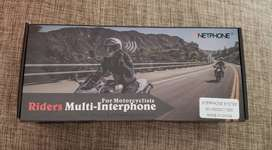 2 Vnetphone V6 Intercomunicador De Moto 1200m Original