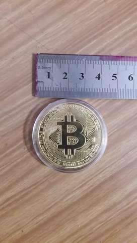 Bitcoin fisico btc conmemorativo