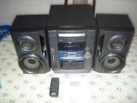 Minicomponente Sony Hcd Dx100 C/ctrl Rem Y Manual Orig Excel