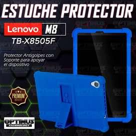 Estuche Case protector de goma Tablet Lenovo Tab M8 8505x / x8505f Anti golpes con soporte
