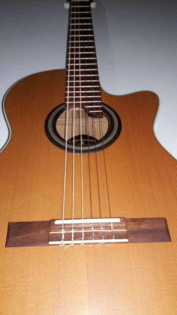 Guitarra Profesional Boca Alto Relieve 0