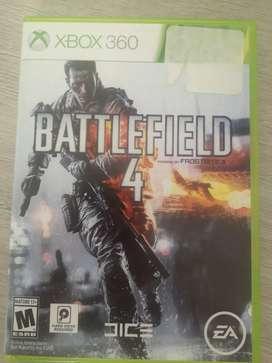 Videojuego xbox 360 battlefield 4