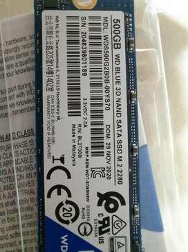SSD de 500gb Western Digital blue (gamer)