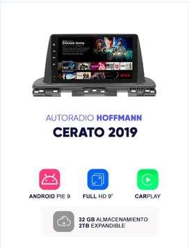 Autoradio Kia Cerato 2019 9″ CarPlay Android 9 | Hoffmann Homologado