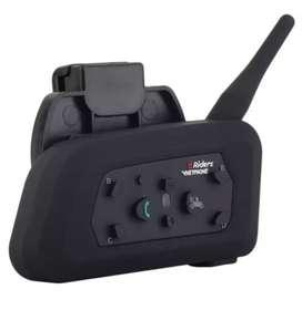 Intercomunicador Bluetooth Para Casco Motocicleta 1200m Gps