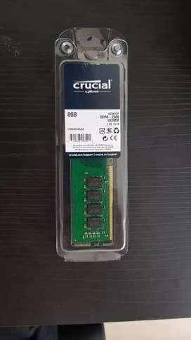 Memoria RAM DDR4 8GB PC CRUCIAL 2666MHZ