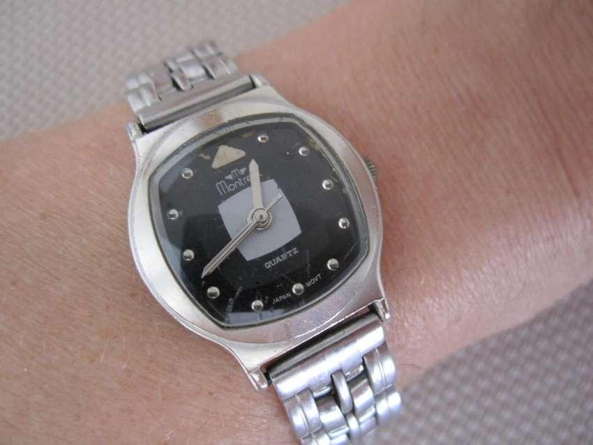 Reloj MONTREAL Malla de Acero/ Traba de seguridad Japan 0
