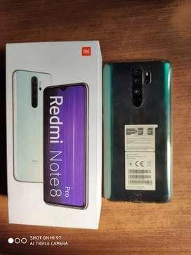 Vendo Redmi note 8 pro 64/6 con todos sus accesorios