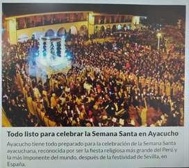 Vuelo Lima-Ayacucho-Lima