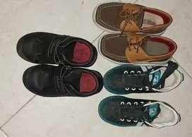 Zapatos  y tenis guayos para niño