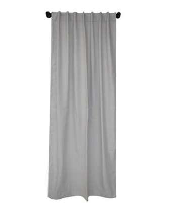 Remate de tres cortinas blackout 1.40 x 2.18 m gris