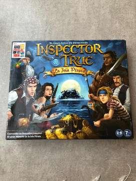 Juego de mesa Inspector True