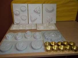 Moldes plásticos para artesanías