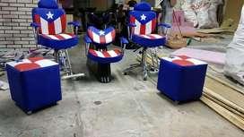 Vendo Barbería Economica, Tricolor