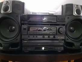 Equipo de sonido modular aiwa