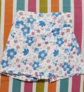 Pollera Pantalon Lo de Ivone Talle 10
