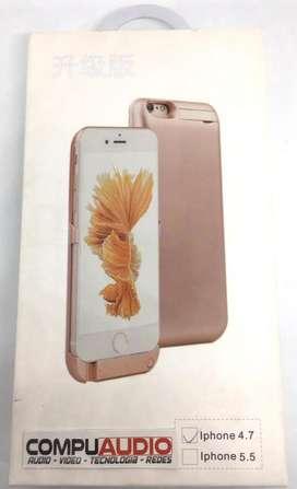 Banco de poder y estuche para iphone 6 - 6s 4,7 pulgadas 10.000MAh