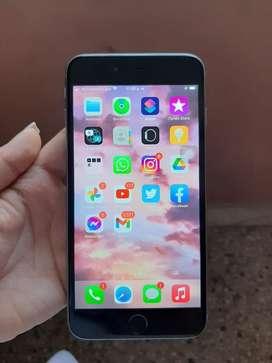 Iphone 6s plus en Excelente estado unico dueño huella al 100% condicion de bateria 100%