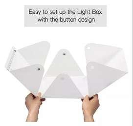 Caja Foto Fotografia Estudio Fotografico Plegable 1 Luz Led