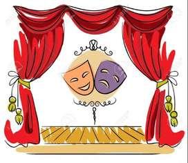 profe de teatro, y/o actividad alternativa lúdica