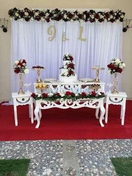 Venta total de negocio en decoración de fiesta