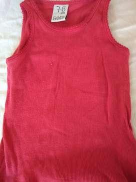 Remera camiseta morley grisino 7/8 años nena como nueva