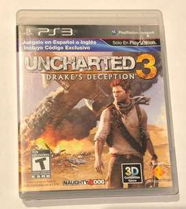 Juego Uncharted 3 PS3