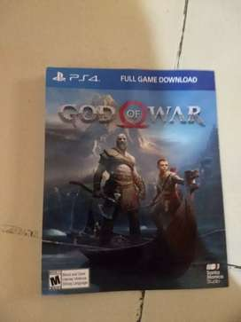 Juego god of war PS4