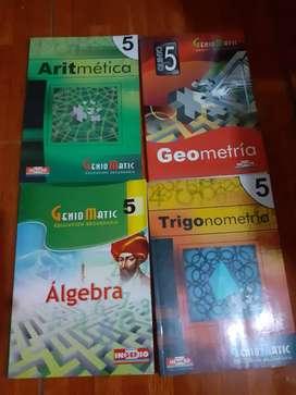 Libros de Matematica Editorial Ingenio