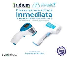 Termómetro Médico Infrarrojo digital FDA - CE -FCC - Certificado Médico