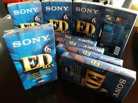 Casete Vhs Sony