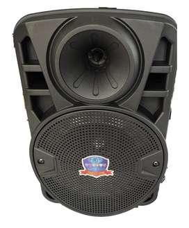 "Cabina Activa de 8"" - Radio FM, MP3, Bluetooth, Micrófono, Control remoto"
