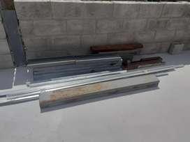 Vendo piezas de estructura metálica