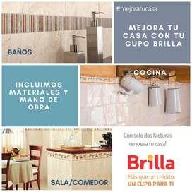 Remodelaciones en tu casa a través del Cupo Brilla (Materiales y Mano de Obra Incluido) #MejoratuCasa