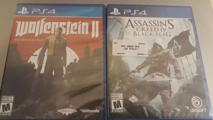 wolfenstein 2 &assassin Creed 0