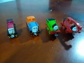 Set 4 trenes Thomas and friends