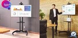 soporte tipo pedestal para TV importado americano