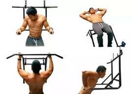 Barra multifuncional para ejercicios